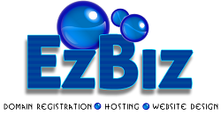 EzBiz - Domain Registration, Hosting and Website Design